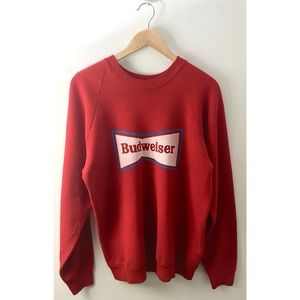 Vintage 80's Budweiser Sweatshirt